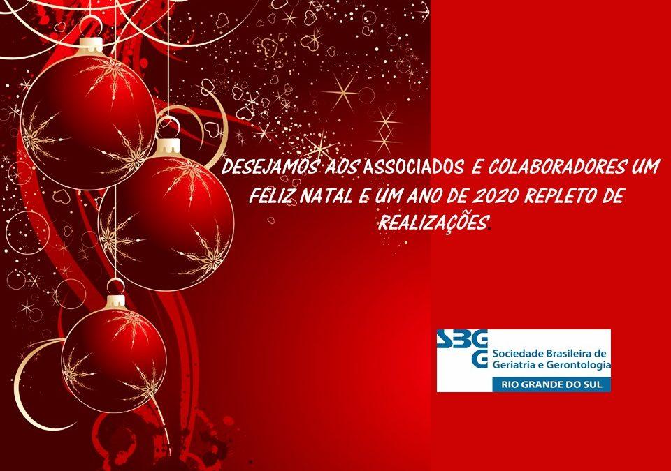 Feliz Natal e um Ano de 2020 Repleto de Realizações.