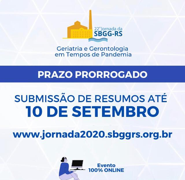 IMPORTANTE: Submissão de Resumos